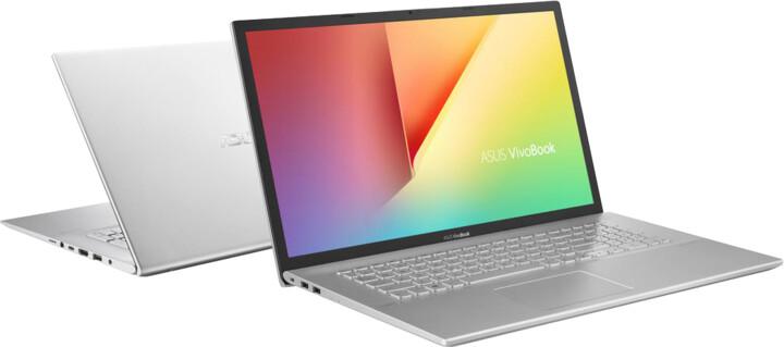 ASUS Vivobook X712FA, stříbrná