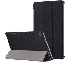 Tactical Book pouzdro Tri Fold pro Huawei MediaPad M5 10, černá - 2443984