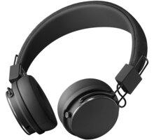 Urbanears Plattan 2 Bluetooth, černá O2 TV Sport Pack na 3 měsíce (max. 1x na objednávku)