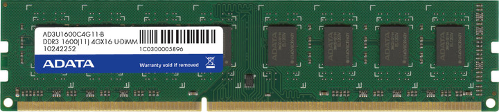 ADATA Premier Series 4GB DDR3 1600