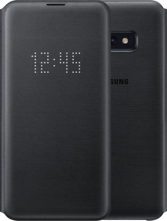 Samsung LED flipové pouzdro pro Samsung G970 Galaxy S10e, černá
