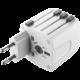 CellularLine univerzální cestovní adaptér pro všechny světové elektrické sítě  + Voucher až na 3 měsíce HBO GO jako dárek (max 1 ks na objednávku)