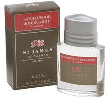 Kolínská voda St James of London, santalové dřevo a bergamot, 50 ml - 0737178111169