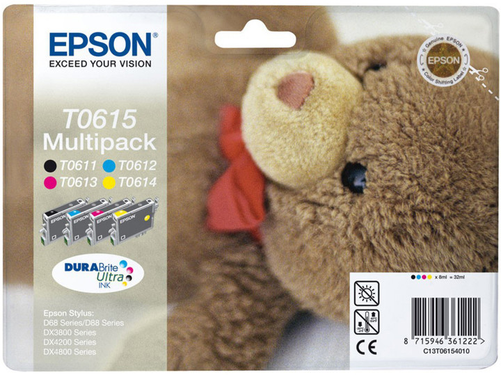 Epson C13T061540A0, multipack