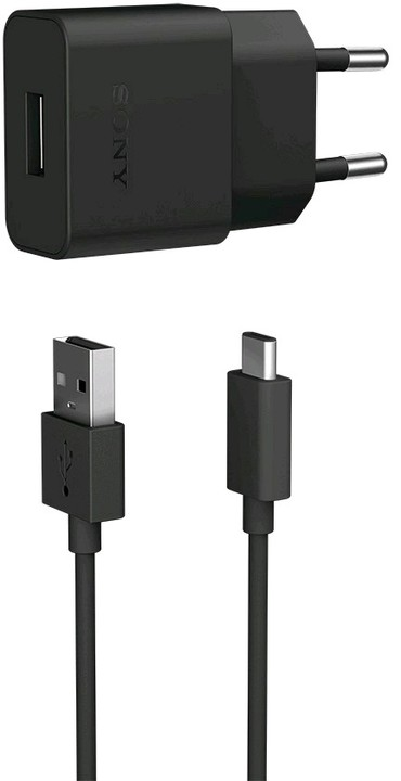 Sony UCH20C Standard Charger 1.500mAh, Black