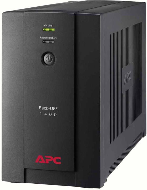 APC Back-UPS 1400VA, AVR, IEC