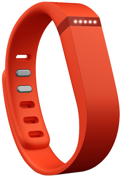 Fitbit příslušenství pro Flex náhradní pásek - Tangerine - Large