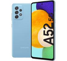 Samsung Galaxy A52 5G, 6GB/128GB, Awesome Blue - SM-A526BZBDEUE + Antivir Bitdefender Mobile Security for Android 2020, 1 zařízení, 12 měsíců v hodnotě 299 Kč