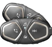 CellularLine Bluetooth handsfree pro uzavřené a otevřené přilby Interphone CONNECT, Twin Pack INTERPHOCONNECTTP