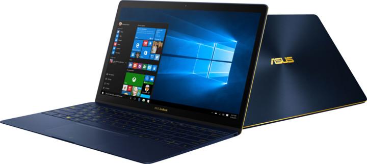ASUS ZenBook 3 UX390UA, modrá