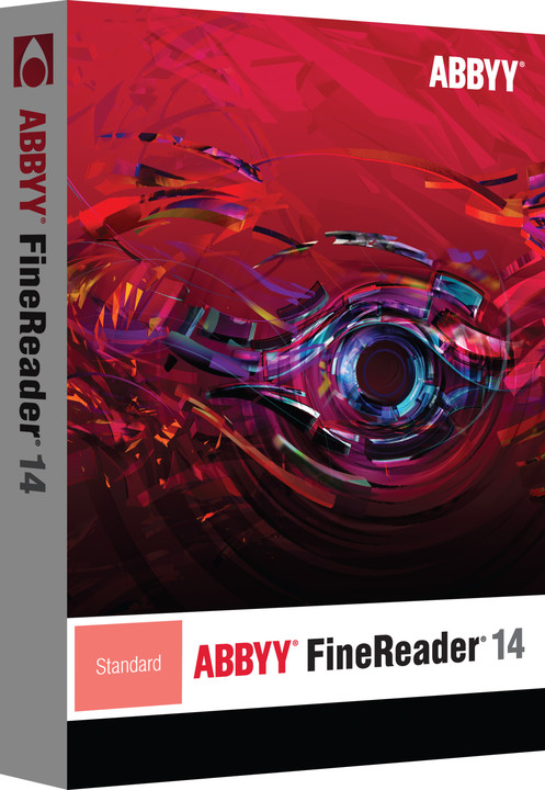 ABBYY FineReader 14 Standard EDU / ESD / CZ upgrade