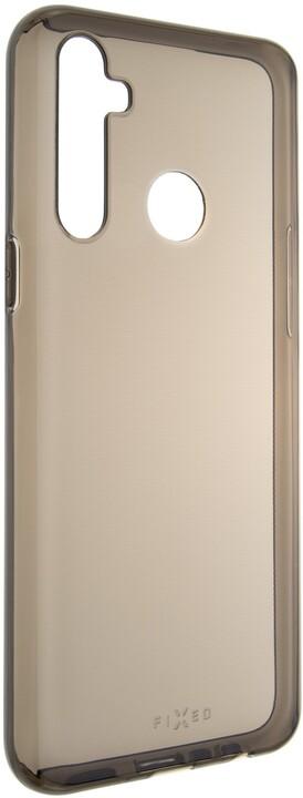 FIXED TPU gelové pouzdro Slim pro Realme 6i/C3/5, 0.6 mm, kouřová