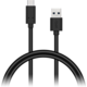 CONNECT IT Wirez USB-C (Type C) - USB, černý, 1 m