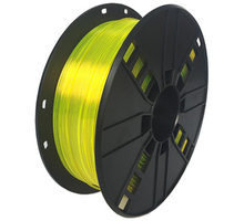 Gembird tisková struna (filament), PETG, 1,75mm, 1kg, žlutá - 3DP-PETG1.75-01-Y