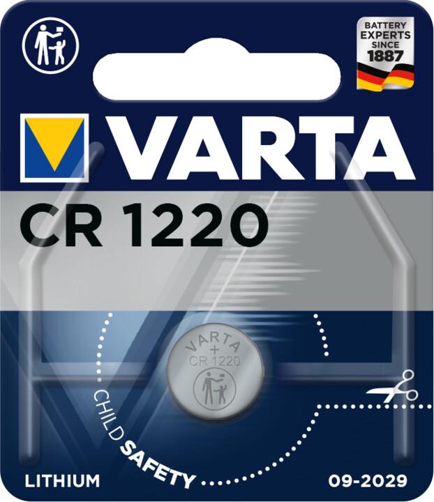VARTA lithiová baterie CR1220
