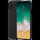 Pitaka Aramid case iPhone X (plain), černá/šedá
