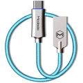 Mcdodo Knight rychlonabíjecí datový kabel USB-C s inteligentním vypnutím napájení, 1m, modrá