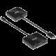 Club3D adaptér USB-C 3.2 - 2xHDMI 2.0, M/F, MST, 4K@60Hz, 21cm, černá