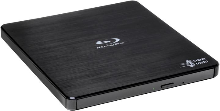 Hitachi BP55EB40, externí, USB 2.0, černá