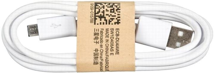 Samsung kabel micro USB, bílá