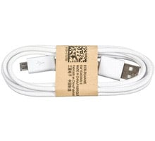 Samsung kabel micro USB, bílá - ECB-DU4AWE bulk