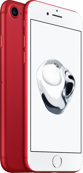 Apple iPhone 7 (PRODUCT)RED 128GB, červená