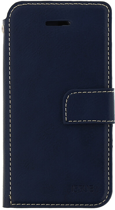 Molan Cano Issue Book pouzdro pro iPhone X, tmavě modrá