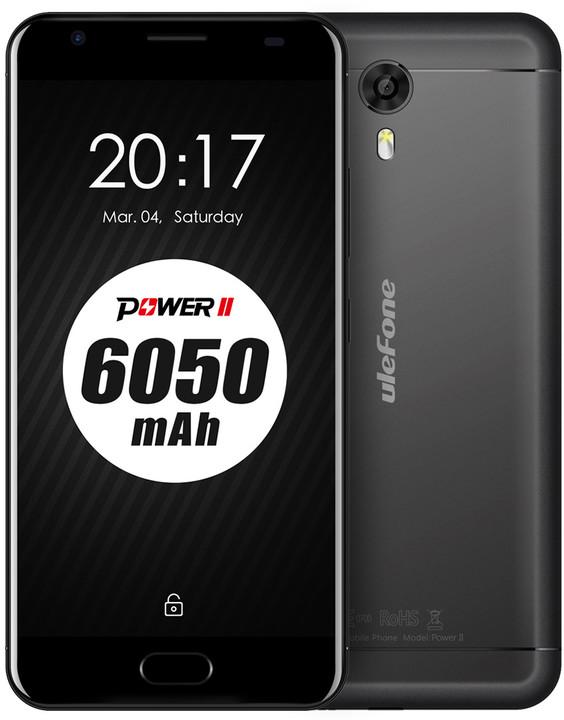 Ulefone Power 2, 64GB, černá