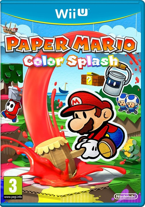 Paper Mario Color Splash (WiiU)
