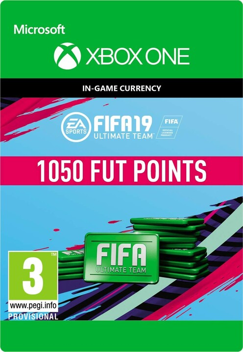 FIFA 19 - 1050 FUT Points (Xbox ONE) - elektronicky