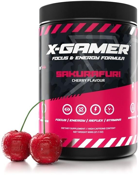 Doplněk stravy X-Gamer X-Tubz - Sakurafuri, 600g