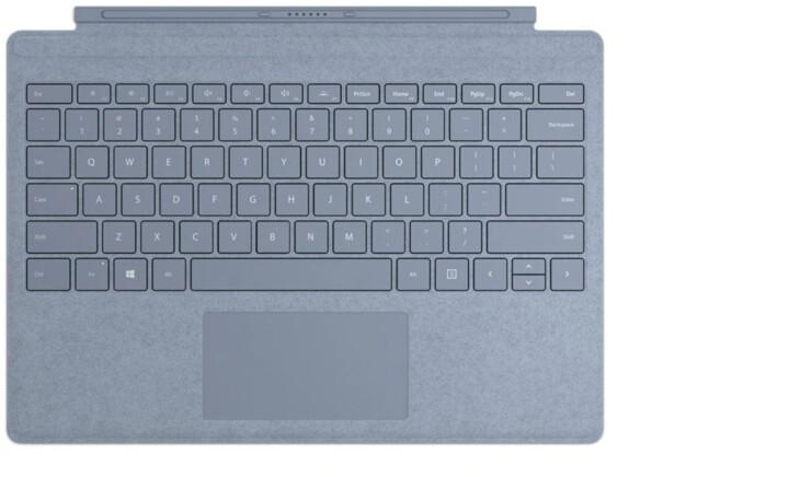Microsoft Signature Type Cover pro Surface Pro, ENG, šedá