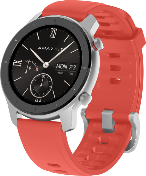 Amazfit GTR 42mm Red, červená
