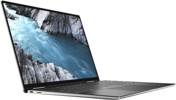 Dell XPS 13 (9310) Touch, stříbrná/černá