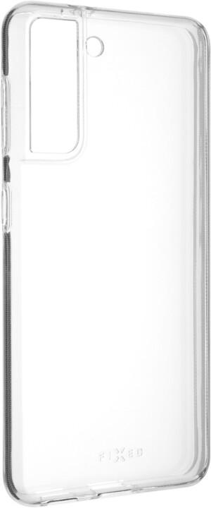 FIXED ultratenké TPU gelové pouzdro Skin pro Samsung Galaxy S21, 0,6 mm, transparentní