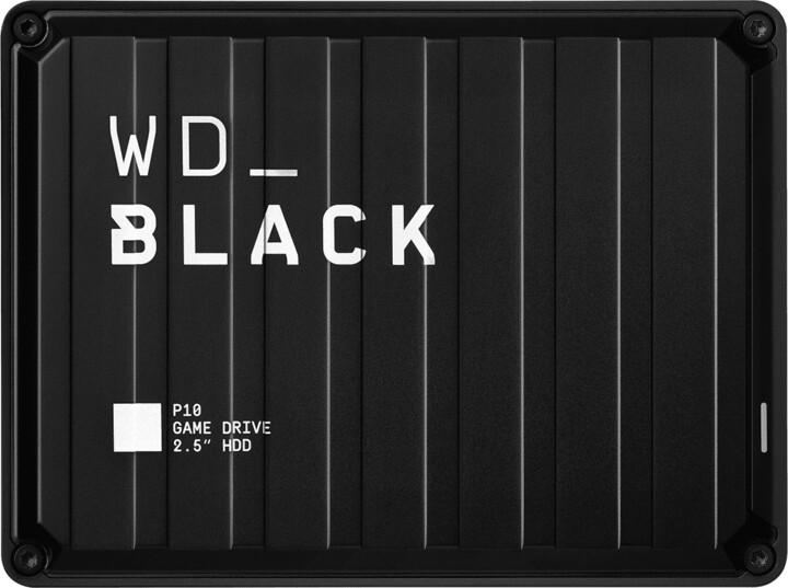 WD_BLACK P10 - 5TB, černá
