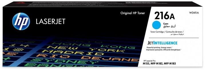 HP W2411A č. 216A, azurový
