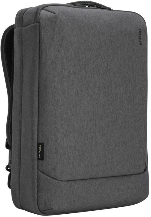 """Targus batoh Cypress Convertible EcoSmart na notebook 15,6"""", šedá"""