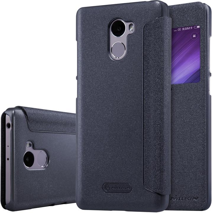 Nillkin Sparkle Leather Case pro Xiaomi Redmi 4, černá