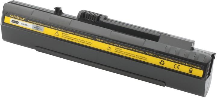 Patona baterie pro ACER, ASPIRE ONE 4400mAh Li-Ion 10.8V černá