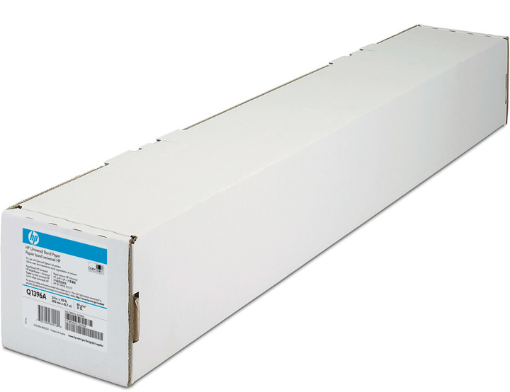 "HP Inkjet Bond Paper, role 24"", 80 g/m2, 45m"