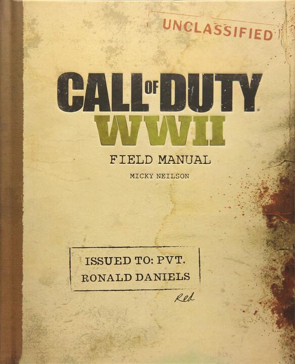 Kniha Call of Duty: WWII - Field Manual