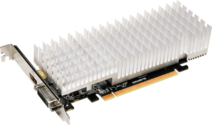 GIGABYTE GT 1030 Silent Low Profile 2G, 2GB GDDR5