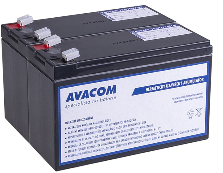 Avacom náhrada za RBC124 (2ks) - baterie pro UPS