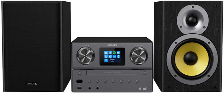 Philips TAM8905, černá