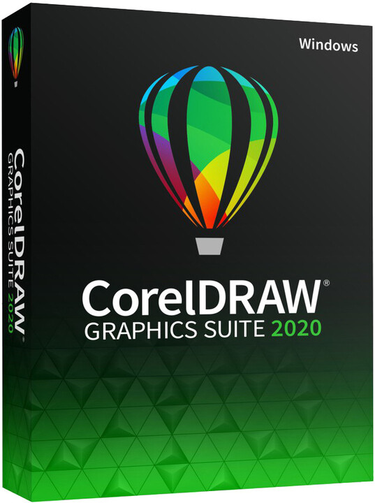 CorelDRAW Graphics Suite 2020 - el. licence OFF