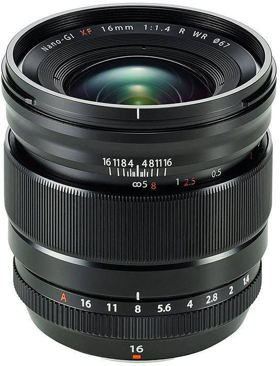 Fujinon XF16mm f/1.4 R WR