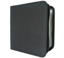 Cover it box-pouzdro:48 CD zapínací černé - NN202
