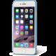 EPICO ultratenký plastový kryt pro iPhone 7 TWIGGY MATT, 0.3mm, modrá