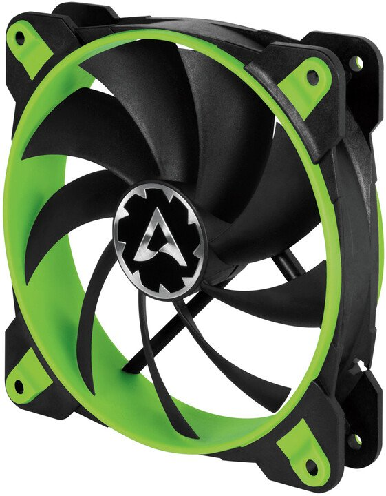 Arctic BioniX F120, eSport fan, zelená - 120mm